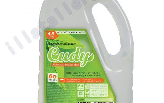 Nekünk a Cudy illatmentes folyékony mosószer bevált